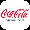 Coca-Cola valkoinen logo